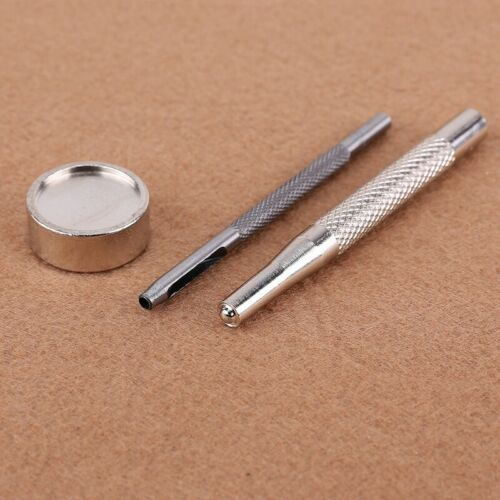 30pcs 15mm metal push button tool set for leather goods leather B4X1