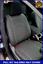 Black Eco-Leather Tailored Full Set Seat Covers Honda CRV Mk4 IV 2012-2016
