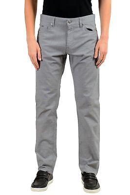 """Hugo Boss """"Maine3-20"""" Men's Gray Straight Leg Jeans US 33/32 IT 33/32"""