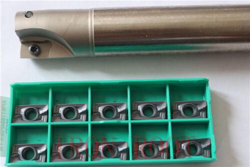 1P 400R-25-300L-C25-2T Indexable End milling Holder+10PCS APMT1604PDER-FM insert