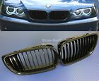 2002-05 BMW E46 Front Grille 4 Door 3 Series Kidney Style 320i 325i Gloss Black
