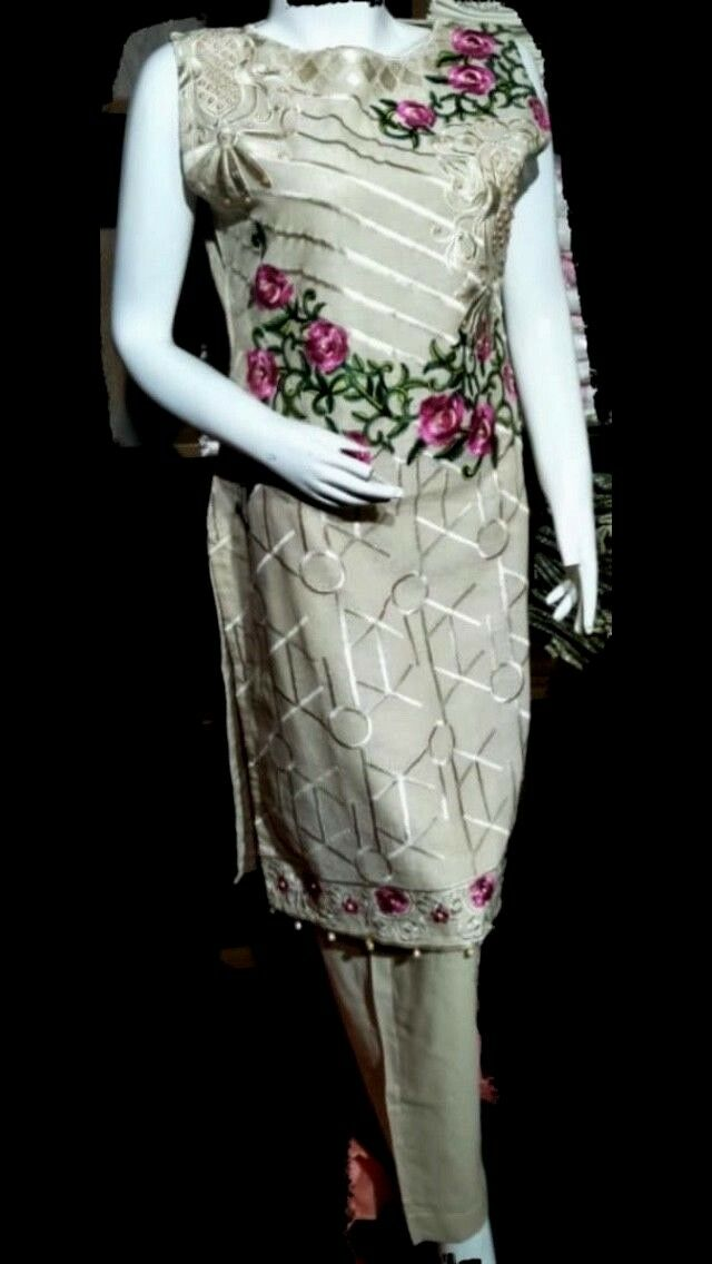 Indian Pakistani Designer Cotton Readymade,anarkali,Salwar Kameez Suit (S M L)