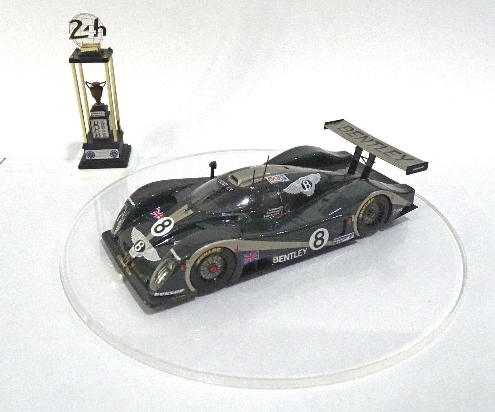 BENTLEY EXP SPEED 8  8  Le Mans 2001 Built Monté Kit 1 43 no spark minichamps