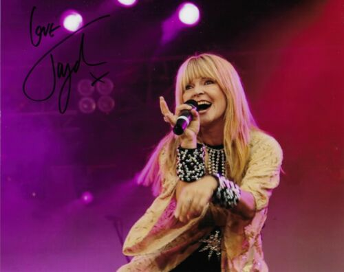 """J4G Photo 10/"""" x 8/"""" Toyah in person signed photo"""