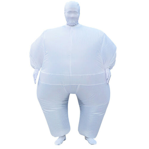 Adult Inflatable Suit Cosplay Fatty Costume Chub Sumo Blow Up Party Outfit