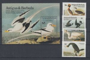 Antigua-amp-Barbuda-851-54-Bloc-91-Oiseaux-Oiseaux-MNH