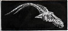 Satanik Goat Ritual Patch Right Black Death Metal Morbosidad Hellhammer Bathory