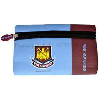 West Ham FC Childrens/Kids Official Wordmark Football Crest Pencil Case