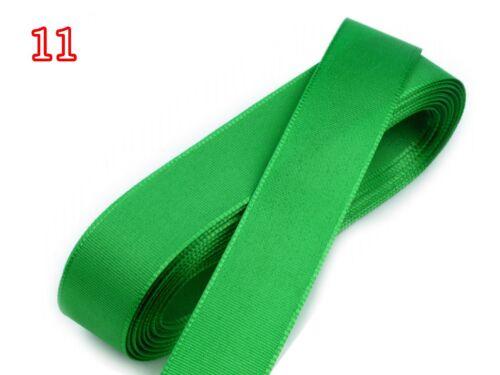 10 m Taftband 15 mm Schleifenband 1m//0,35€ Geschenkband Basteln Deko 1192