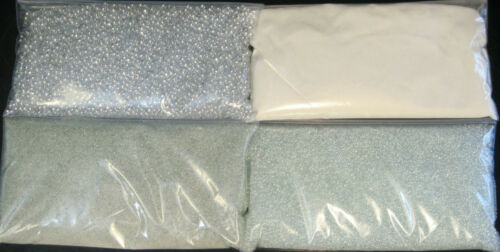 Reflective Glass Bead Variety Sample Pack 4-8 Ounce Bags