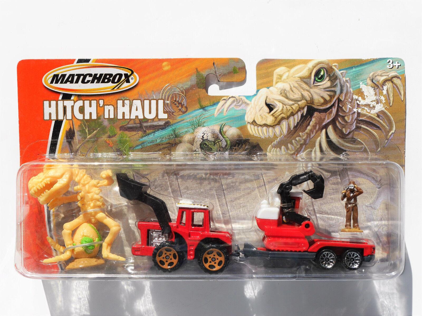MAPPAMONDO Jurassic Dino Pit, 2005 MATCHBOX Hitch 'n Haul  h8462-0718 Boxed