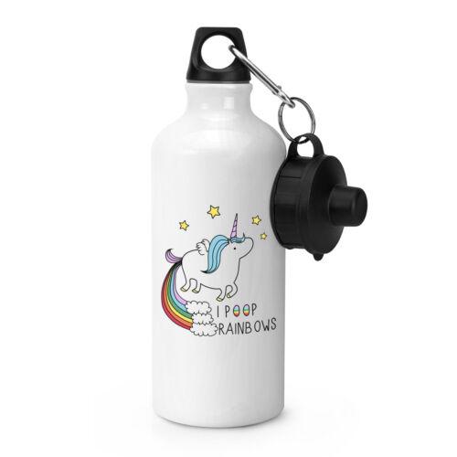 Licorne j'ai merde Rainbows Sports eau bouteille de boisson