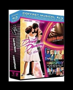 Musical - Coffret 3 films [3 Blu-ray] Patrick Swayze - NEUF