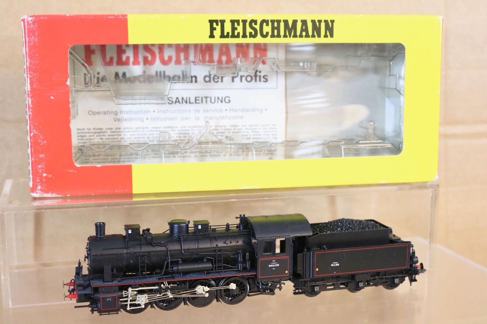 Fleischmann 4155 Fe SNCF 0 8 0 Clase Br 040 Diámetro 353 Locomotoras Metz en