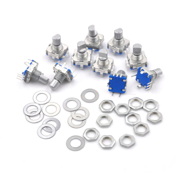 10pieces 12 mm EC11 Key Switch Rotary Encoder Switches JH