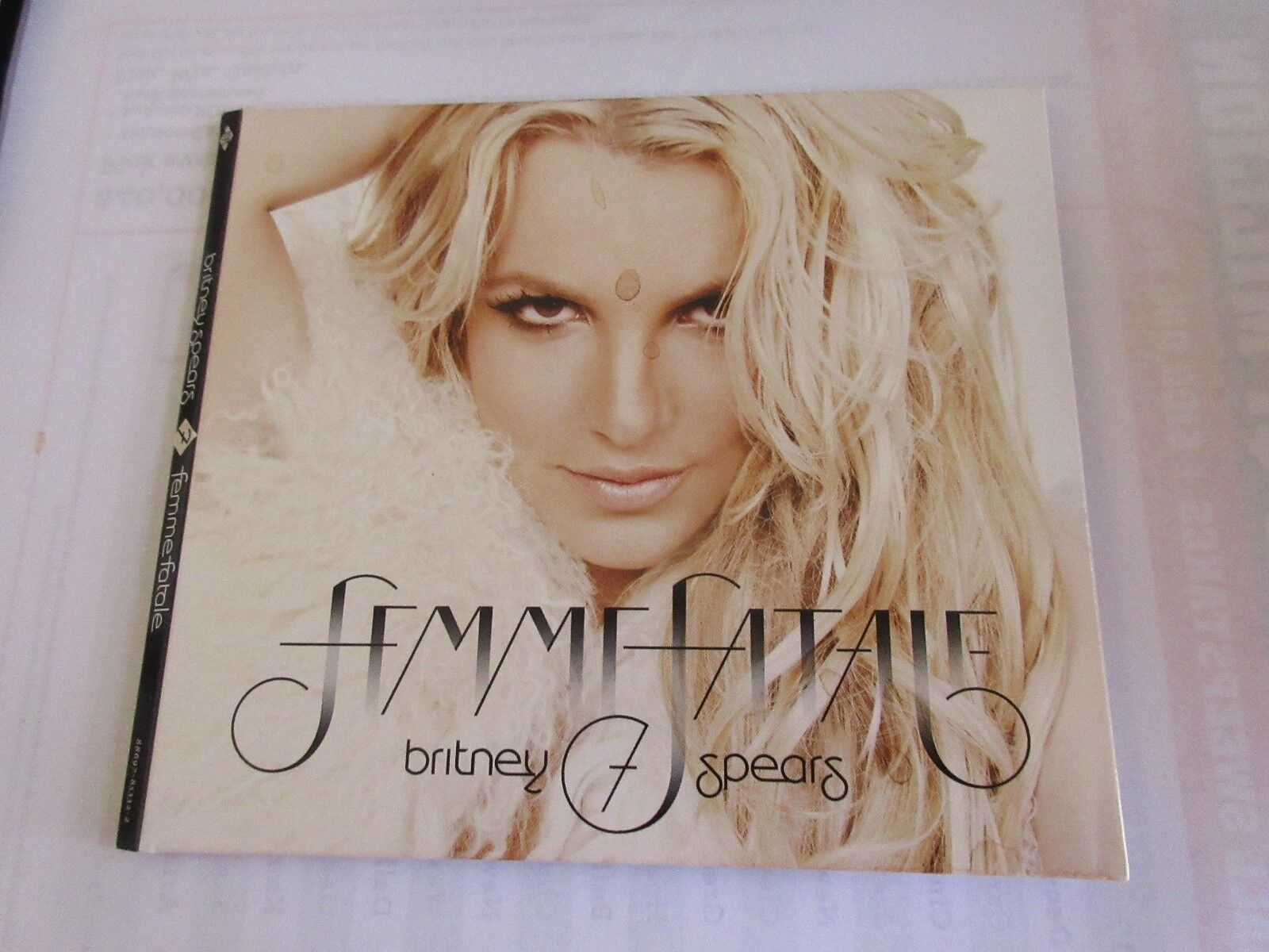 Britney Spears , CD , Femme Fatale 400037226136