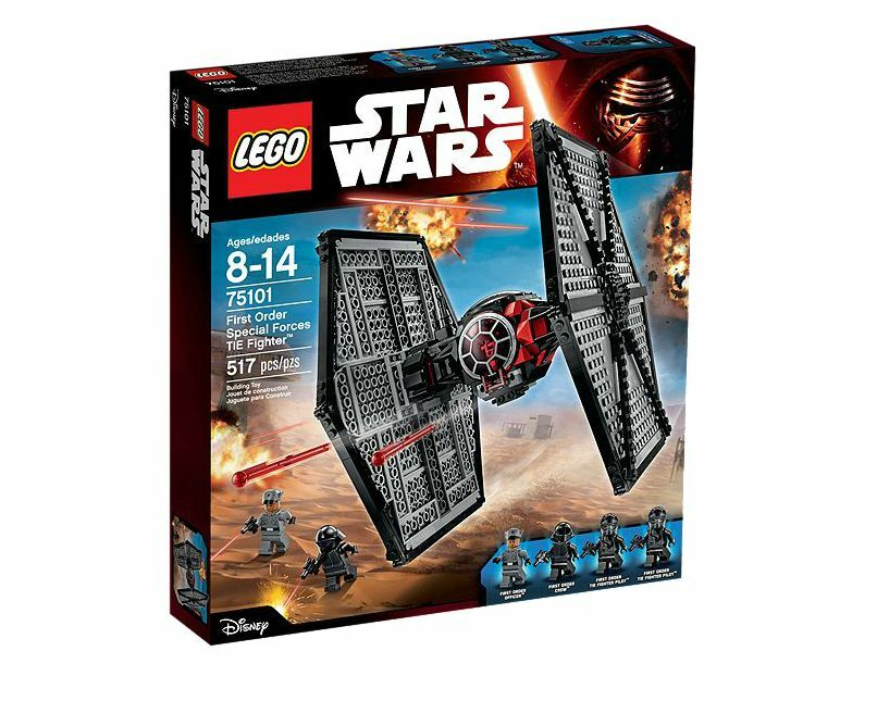 Lego Star Wars The Force Awakens First Order Special Forces TIE Fighter 75101