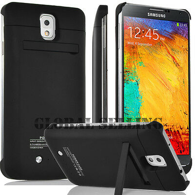 4200mAh External Power Bank Charger Backup Battery Case for Samsung Note 3