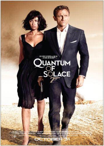 Quantum Of Solace James Bond Classic Movie Poster Art Print A0 A1 A2 A3 A4 Maxi