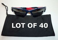 Wholesale Resale 40 Black Micro Fiber Sunglasses Carrying Pouch Case Cleaning