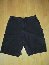 Carhatt Vintage Black Duck Canvas Cargo Utility Shorts  Men's 29  E15