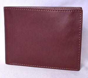 CLARKS-Men-039-s-Bifold-Wallet-with-Flip-Up-ID-Window-Brown-M12151-01CL-gt-NEW-lt