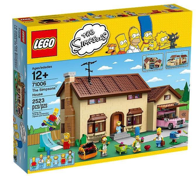 LEGO The Simpsons Das Simpsons Haus (71006) MISB - OVP ungeöffnet NEU