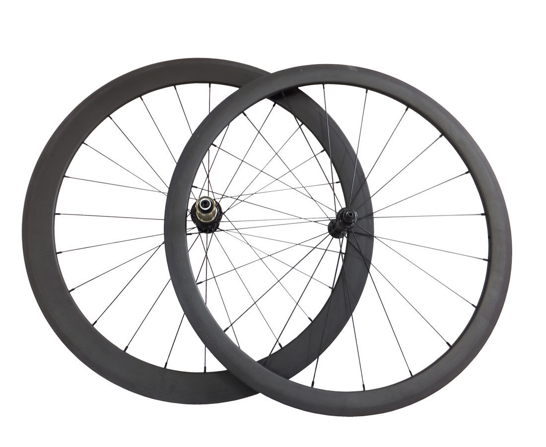 700C 38mm+50mm Clincher Carbon Wheels Carbon Road Bike Bicycle Wheelset