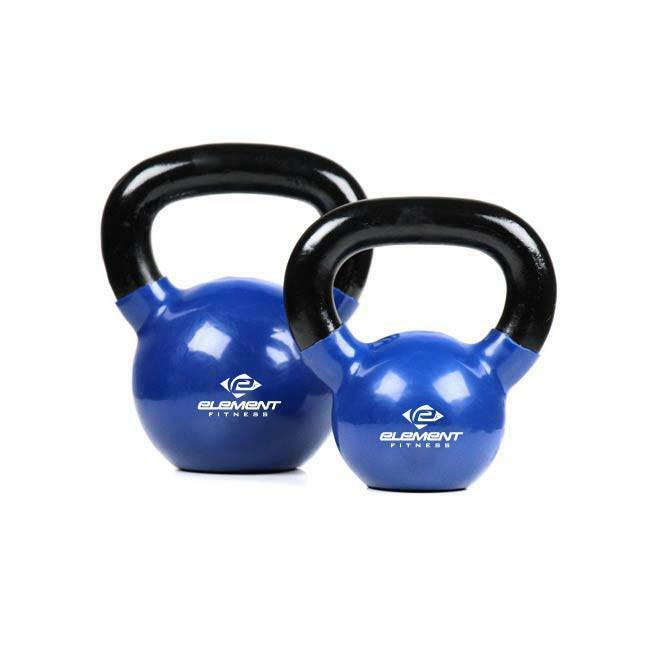 Element  FitnessVinyl Kettle Bells - 15 lbs  limit buy