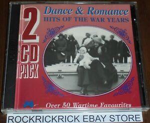 DANCE-amp-ROMANCE-HITS-OF-THE-WAR-YEARS-2-CD-SET-OVER-50-TRACKS-JB549CD