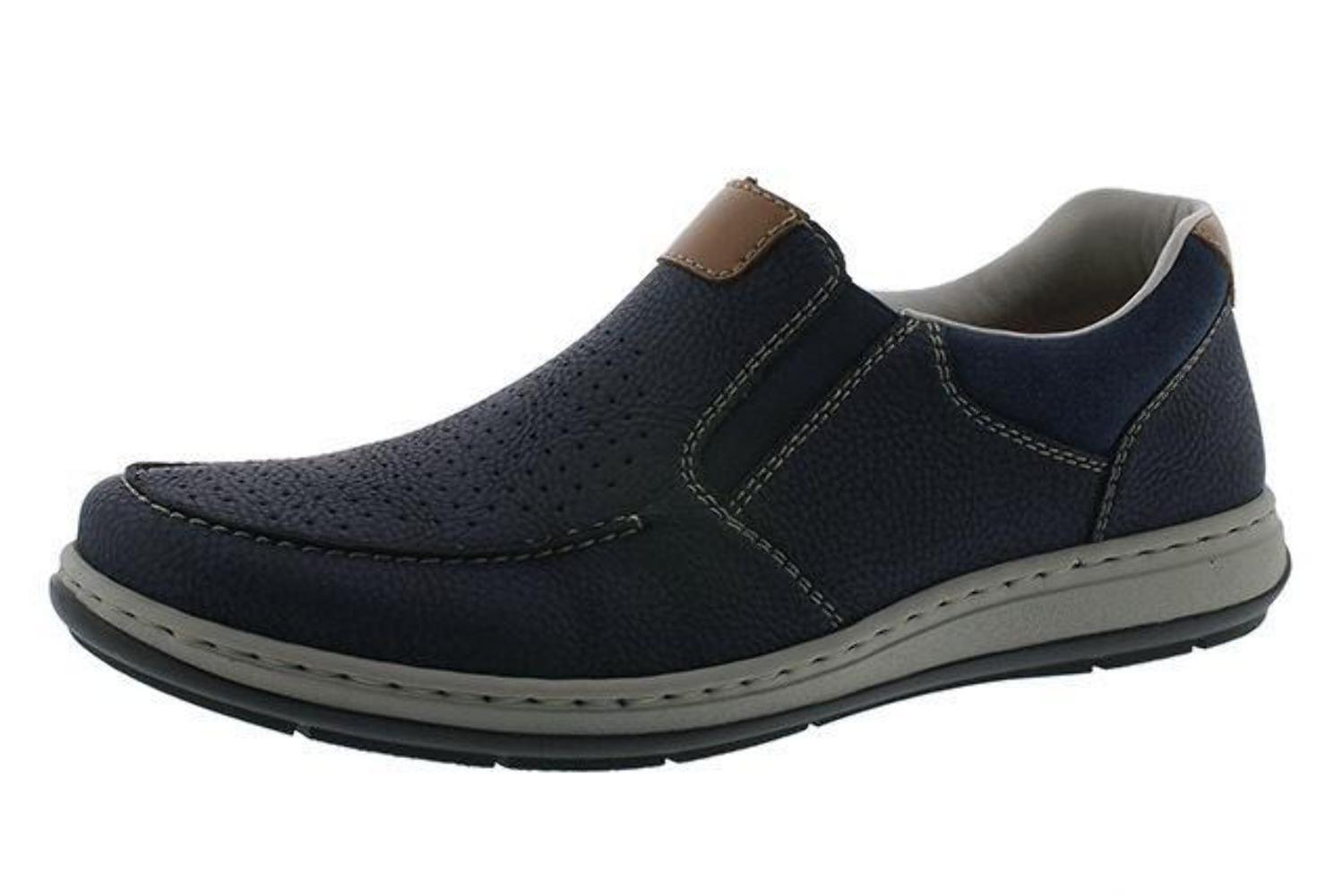 f258c58f7f494e Rieker 17375-14 homme bleu marine Perforé Perforé Perforé Summer Shoes  139678