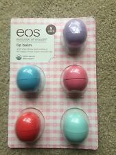 NEW EOS 5 Pack  Lip Balm Organic Smooth Sphere 5 Flavors