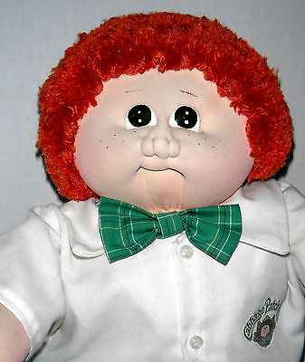 CPK Cabbage Xavier Roberts 1984 Freckled Red Head Boy Soft Sculpture