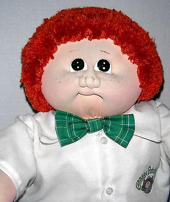 CPK Cabbage Xavier Roberts 1984 Freckled Red Head Boy Soft Sculpture