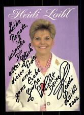Heidi Loibl Autogrammkarte Original Signiert ## BC 75793