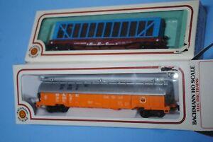 Bachmann-HO-Scale-ATSF-Santa-Fe-51-039-Pulpwood-and-B-amp-LE-Coil-Car