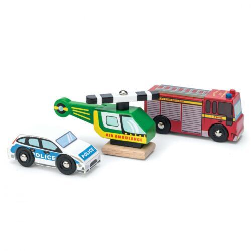Le Toy Van Holzspielzeug Bildungs Rollenspiel Doktor Set Emergency Services