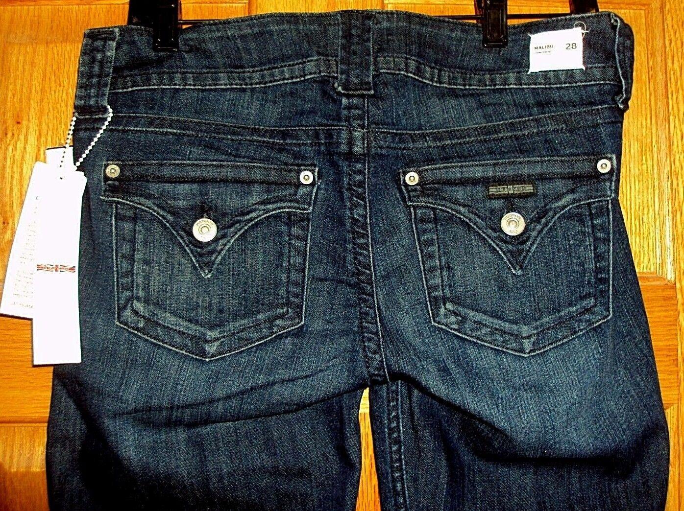 Hudson Malibu Capri Cuffed Crop Jean PSMO NW649ZNA Size 27