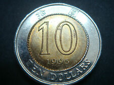 1995 Hong Kong 10 Dollars Coin