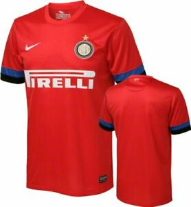 Maglia calcio football t-shirt bambino INTER NIKE trasferta 2012/2013 479318 603