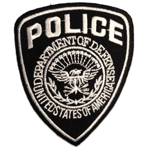 Patches Lap zwart 7x9cm Police politie Logo