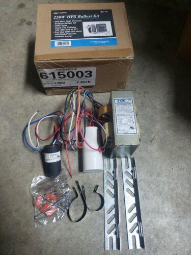 250W HPS Ballast Kit CWA 120 208 240 277 Volt For S50 High Pressure Sodium Lamp