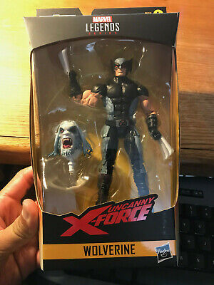 Marvel Legends X-FORCE WOLVERINE Loose Complete No Wendigo BAF X-men IN HAND!!