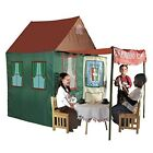 Playhouse for Kids Children Outdoor Tent Cafe Pretend Adventure Play Hut Awning