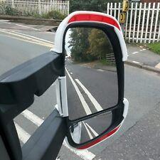 Motorhome Mirror Protectors / Guards with REFLECTORS Fiat Ducato Boxer Long Arm