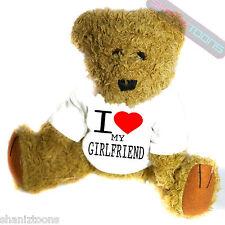 I Love My Girlfriend Novelty Gift Teddy Bear