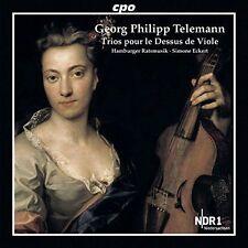 GEORG PHILIPP TELEMANN: TRIOS POUR LE DESSUS DE VIOLE NEW CD
