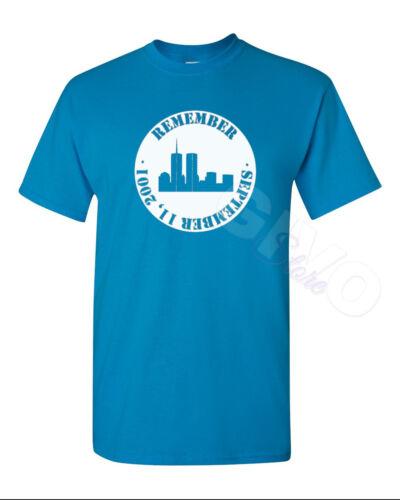 #5 Remember Shirt September 11th In Memory Of 09//11//2001 Terrorist Attacks WTC