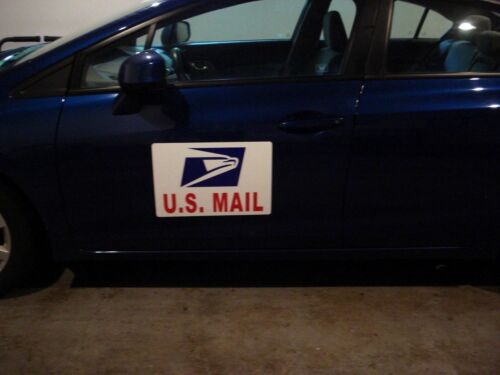 """MAIL Magnetic Sign  12/"""" X 18/""""  LARGER SIZE 1 1 Sign Large U.S"""