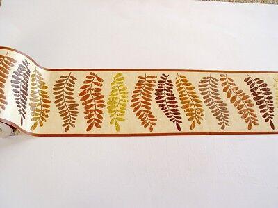 Alkor selbstklebende Bordüre Borders 5mx12,5cm Allover Leaf natural beige 62636